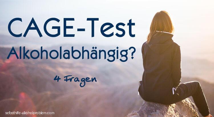 Beitragsbild: Alkoholikertest 4 Fragen / Cage-Test