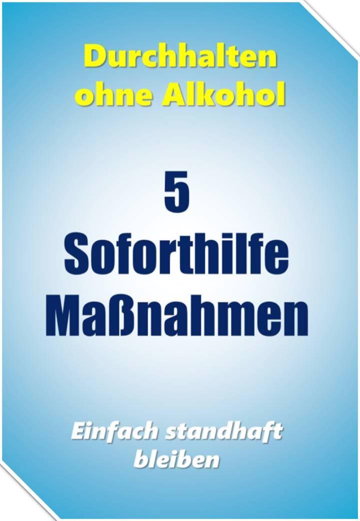 Durchhalten ohne Alkohol