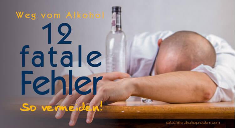 Wie aufhören zu trinken? Vermeide diese 12 Fehler!